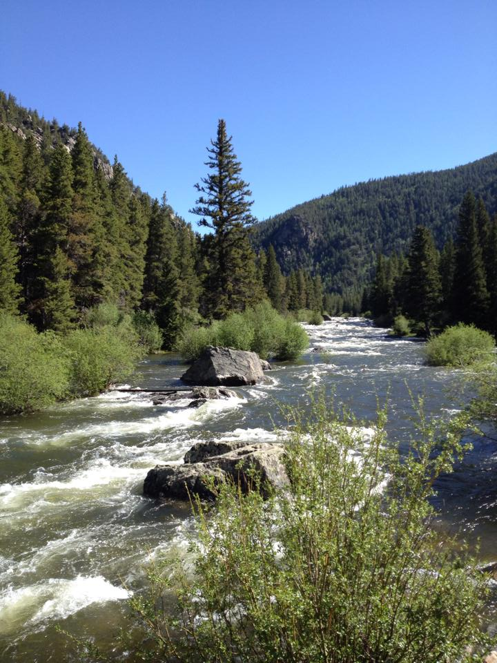 The beautiful Taylor River