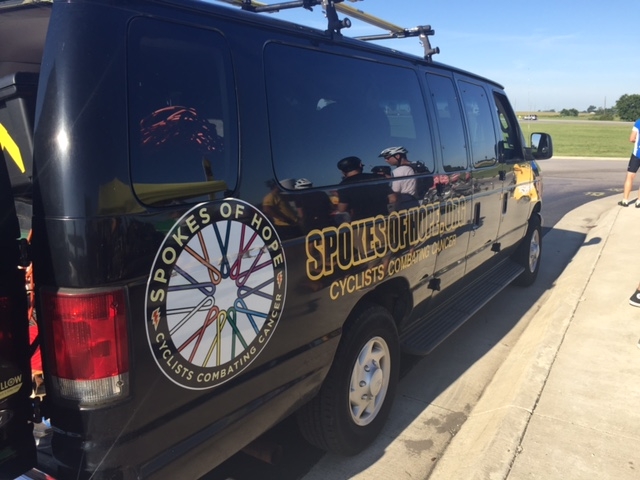 Spokes of Hope Van